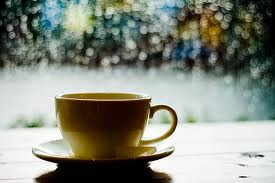 rainy coffee