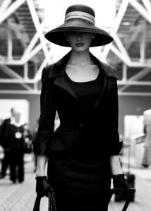 Elegant lady