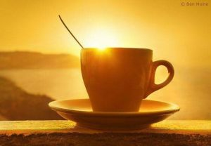 Sunday Morning coffee porch