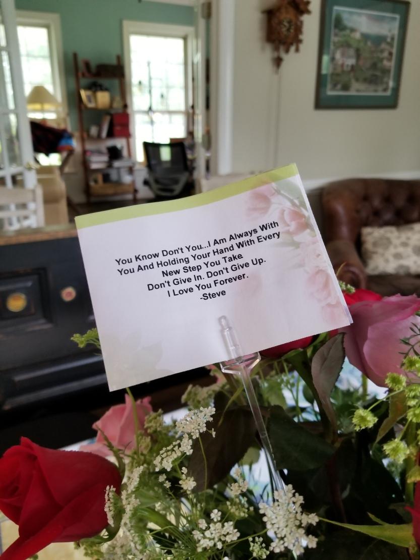 Steve's Birthday Flowers 2018 2