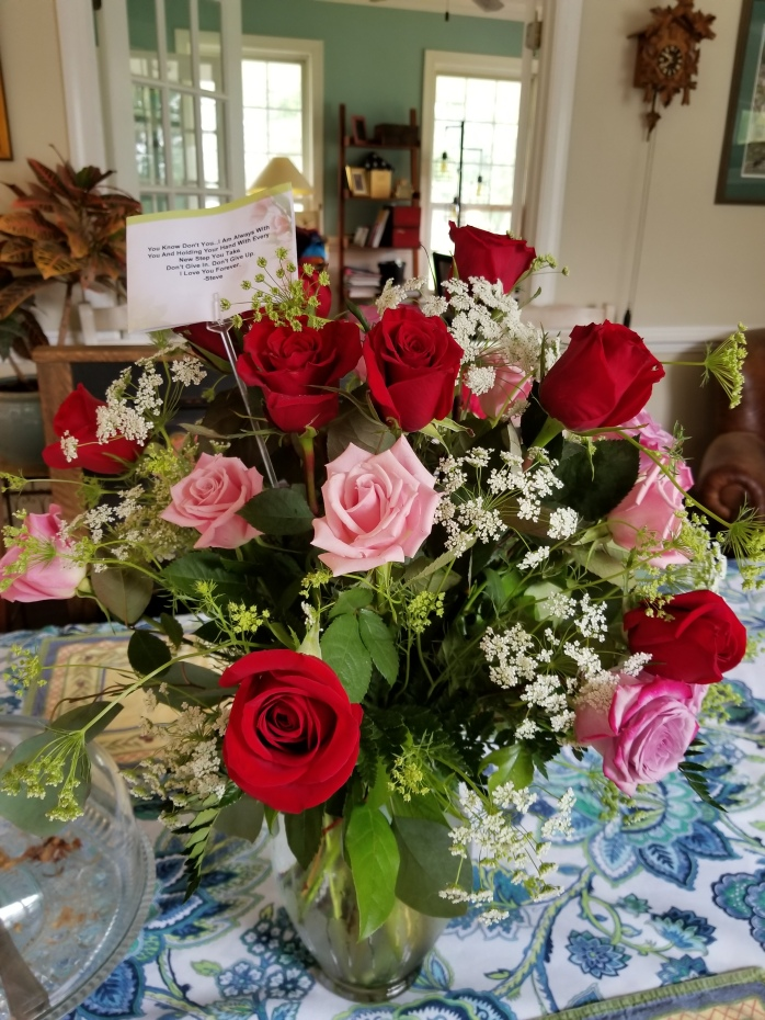 Steve's Birthday Flowers 2018 3